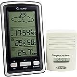 ClimeMET CM7048 Digital Wireless Temperature Weather Station.
