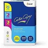 Mondi Color Copy Carta da Stampa, Formato A4, 200gr/mq, 1 Risma da 250 Fogli