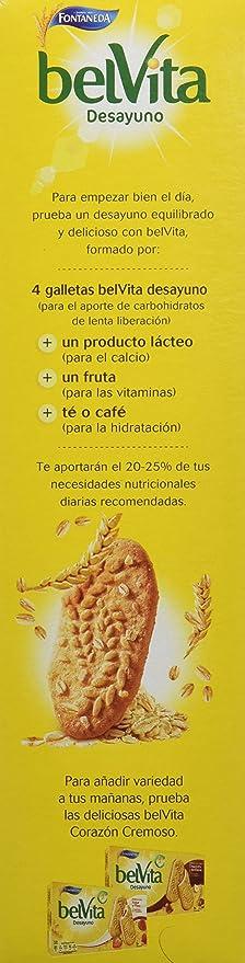 Bel Vita Desayuno Galleta de Cereales con Leche - 400 g: Amazon.es ...