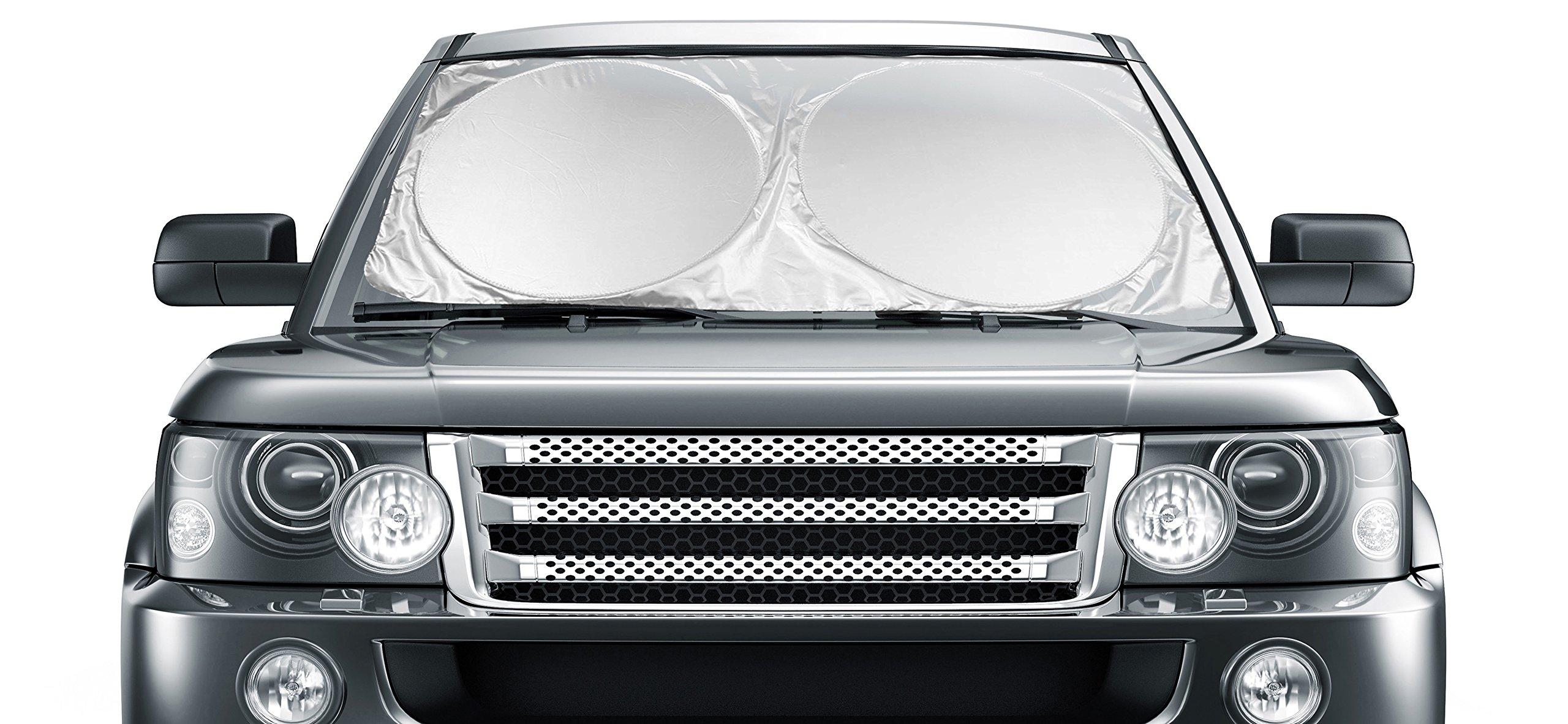 Car Windshield Sunshade Jumbo 63 X 35 For Truck Http Wwwlandroverlightweightcodiagramjpg Suv Uv Protector Shields Auto Keeps Vehicle Cooler Easy To Use Large Pop Up Sun