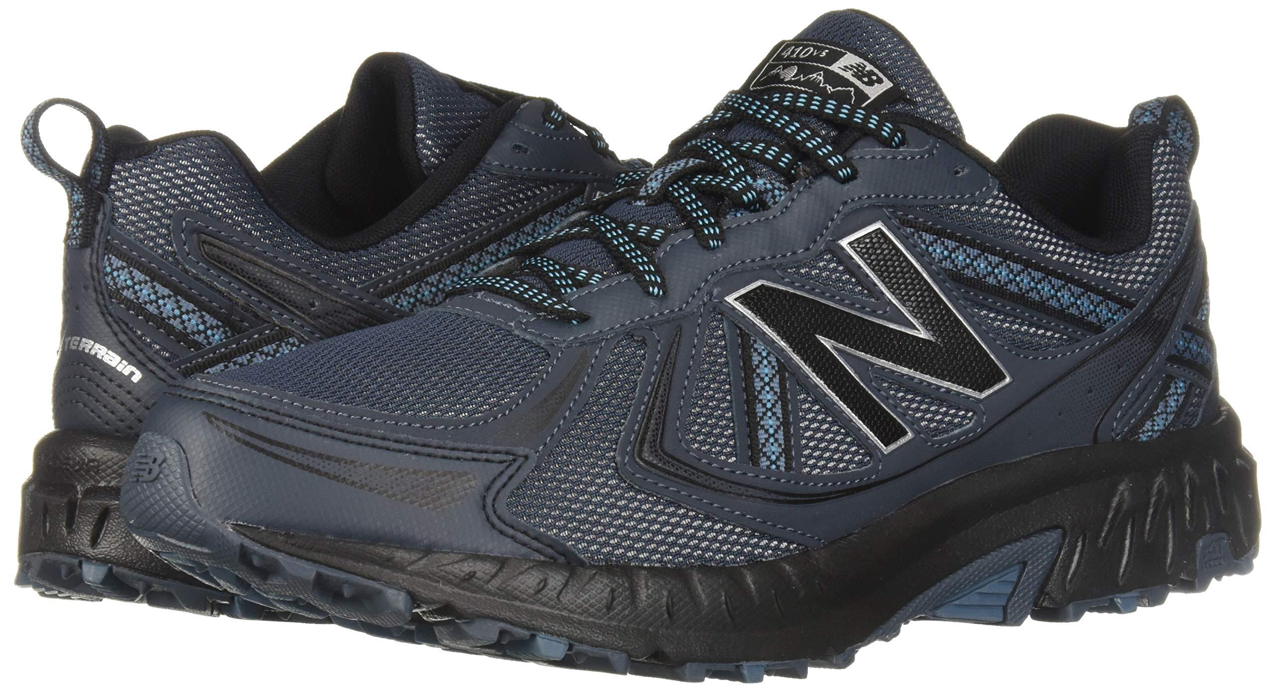 New Balance Men's 410v5 Cushioning Trail Running Shoe, Petrol/Cadet/Black, 7 D US by New Balance (Image #6)