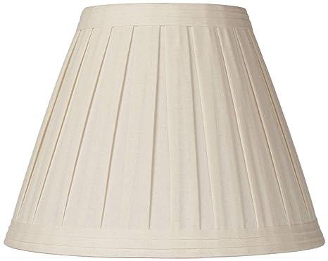 Amazon.com: Creme Lino Pliegue lámpara de techo, 7 x 14 x 11 ...