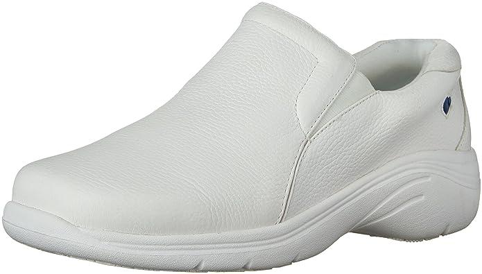 Nurse Mates Women's Dove Slip-On Loafer