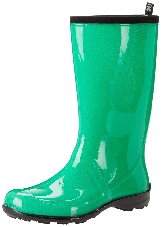 Dark Mint Green Kamik Women's Heidi Rain Boots