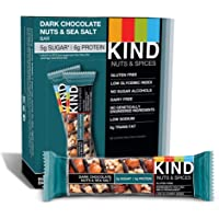 12-Count KIND Bars Dark Chocolate Nuts & Sea Salt, 1.4oz
