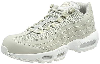 Nike Men\u0027s Air Max 95 Essential Trainers, Grey (Pale Grey/Pale Grey-