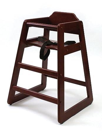 amazon com lipper international 516c child s high chair 20 w x