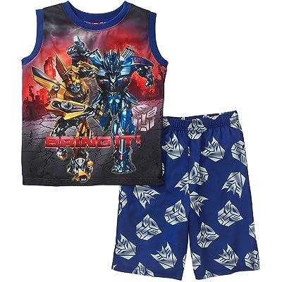 AME Transformers The Last Knight Boys Pajamas 4-16