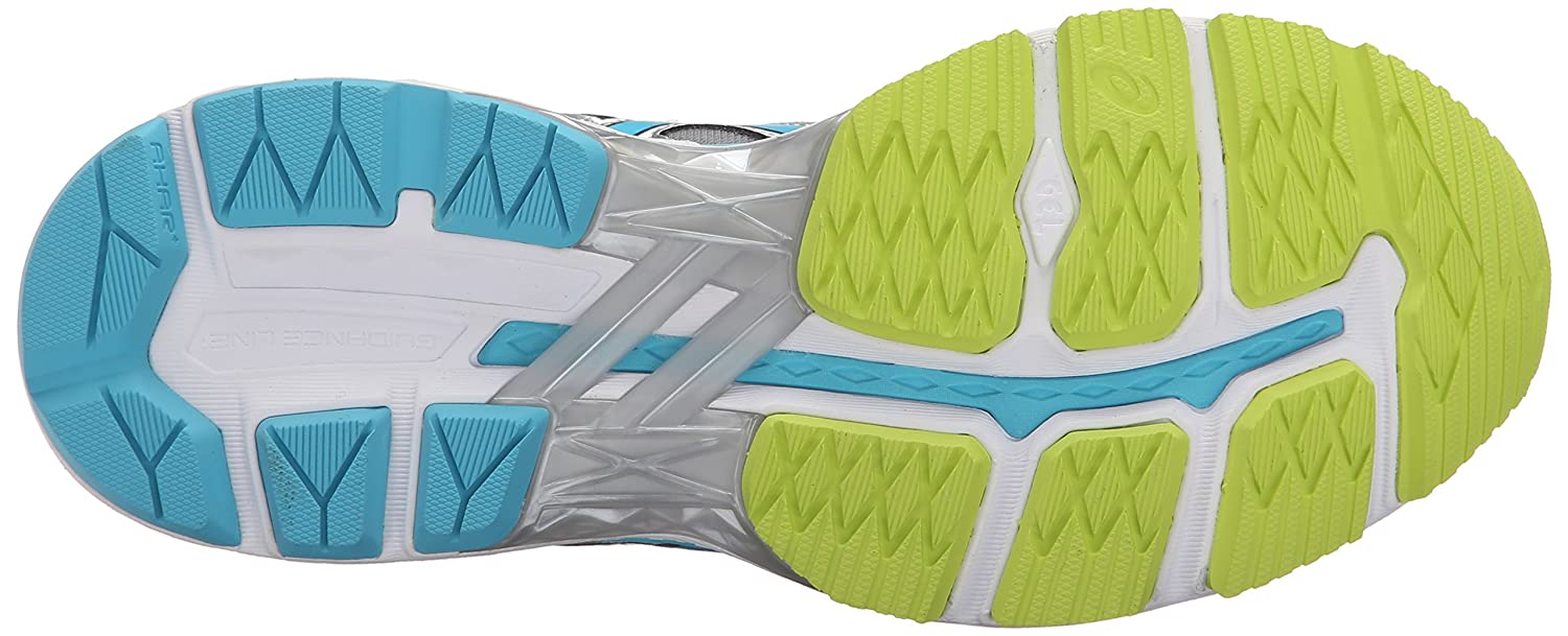 ASICS Women's GT-2000 4 Running Shoe B00YDN5HX0 6 2E US Silver/Turquoise/Lime Punch