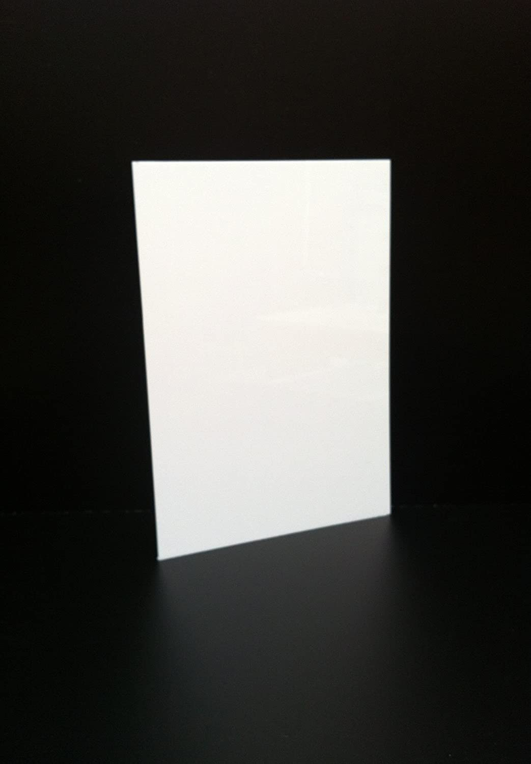 3mm WHITE ACRYLIC SHEET A4 SIZE PANEL PERSPEX