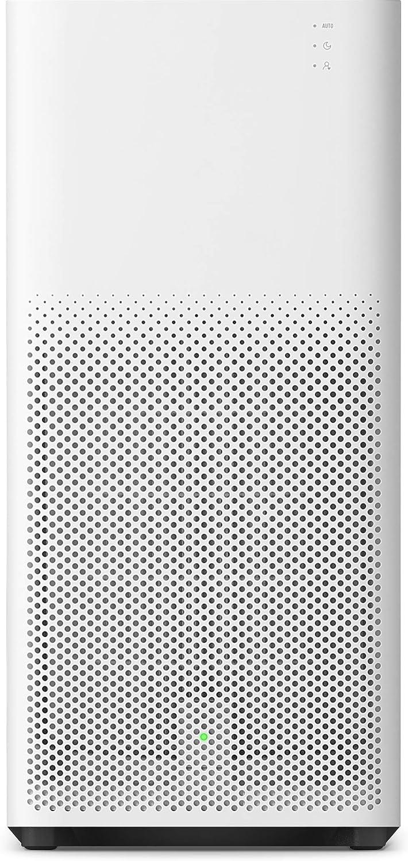 Xiaomi Mi Air Purifier 2H EU version - Purificador de aire, con control por app movil, para estancias hasta 31m2, 260m3/h, Color Blanco