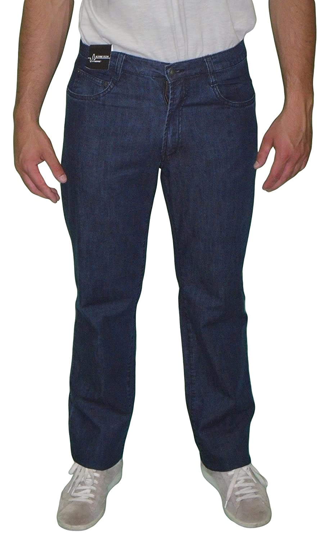 Jeans Herren leichtes elastisches Sea Barrier New INFINITY conf blau Übergrößen