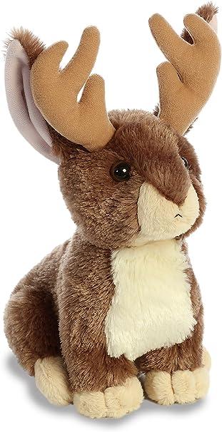 10 Inch Taddle Toes Arizona Jackalope Rabbit Plush Stuffed Animal by Aurora