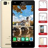 smartphone economici in offerta v mobile A10 quadcore smartphone 5 pollici HD 5.0 MP,2800mAh Cellulari in Offerta smartphone offerta del giorno Oro Nero
