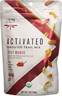 product image for Living Intentions Sprouted Trail Mix, Mango Goki Fire, 7 Ounce