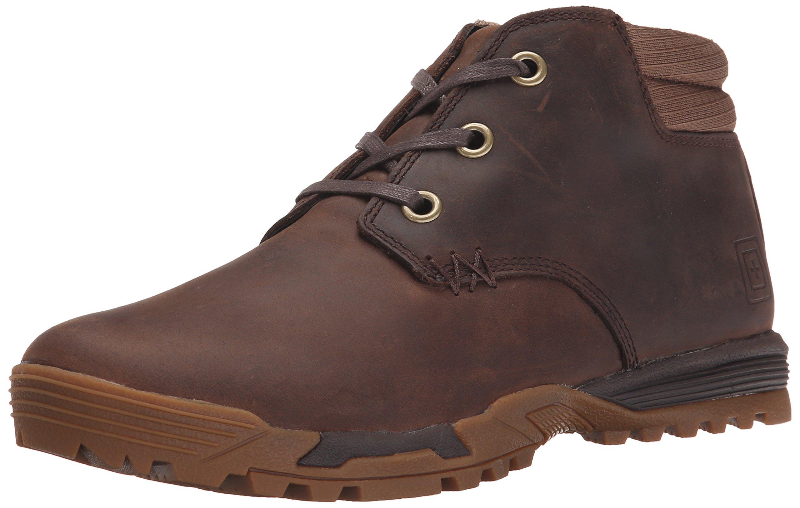 5.11 Tactical Men's Pursuit CDB Work Shoe,Distressed Brown,11 D(M) US by 5.11
