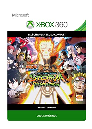 Naruto Shippuden Ultimate Ninja Storm Revolution Xbox 360 Code