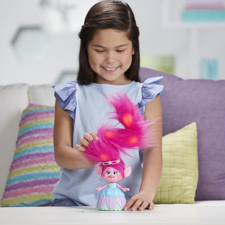 Multicolor Trolls DreamWorks Hair in The Air Poppy Model:C1305