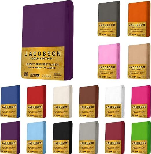 Sábana bajera ajustable Jacobson Gold Edition de algodón con ...