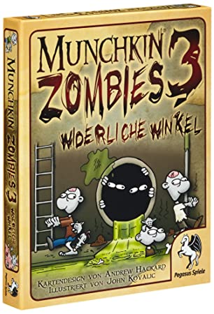Pegasus Spiele 17137G - Munchkin Zombies 3: Amazon.de: Spielzeug