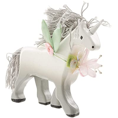 Le Toy Van White Wooden Unicorn Premium Wooden Toys for Kids Ages 3 Years & Up, (Model: BK842): Toys & Games