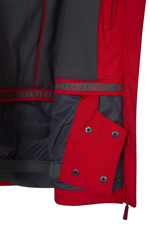 Impermeable Chaqueta de Invierno c/álida y Transpirable Abrigo con Aislamiento para Vacaciones Mountain Warehouse Chaqueta de esqu/í para Mujer Slopestyle Extreme