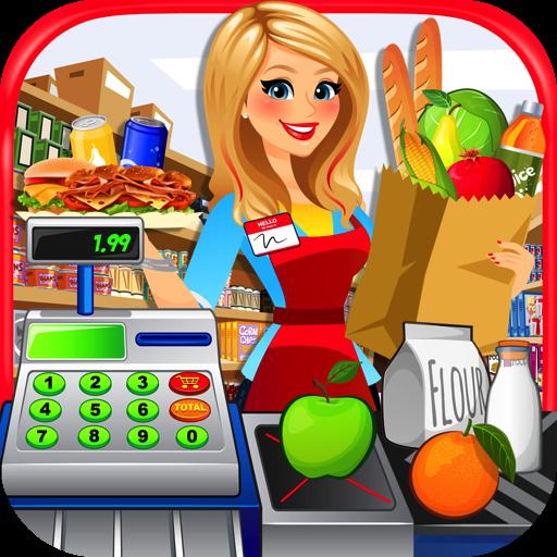 Supermarket Kitchen - Grocery Store, Cash Register & Checkout Games FREE