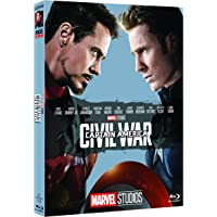 Captain America Civil War 10° Anniversario Marvel Studios brd