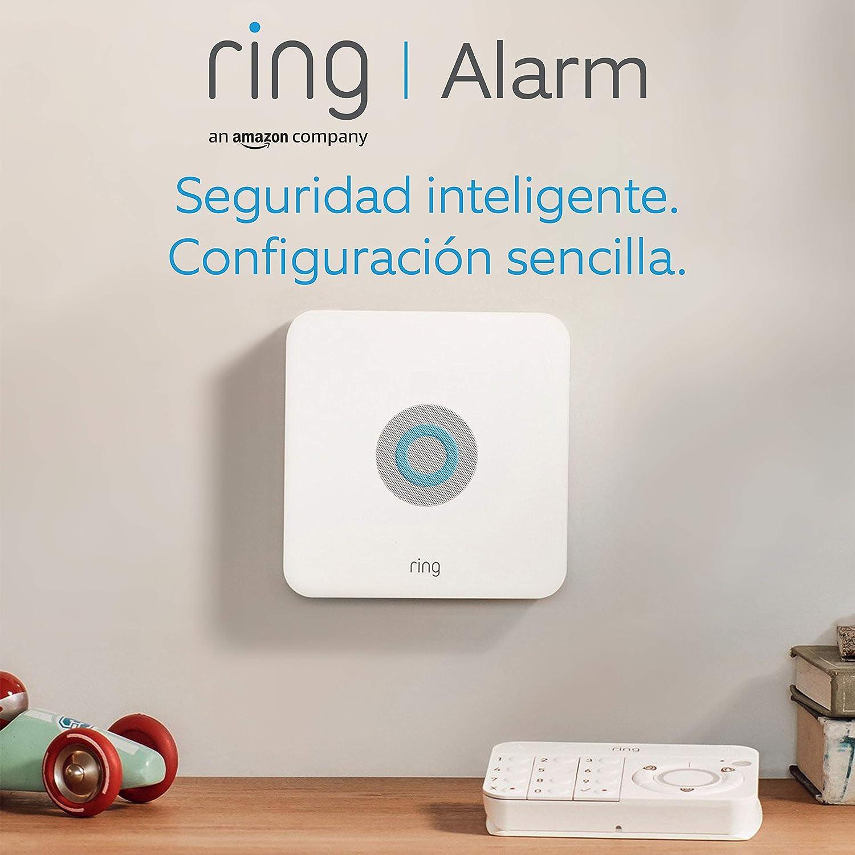 Ring Alarm Kit de 5 piezas – sistema de seguridad para el hogar con vigilancia asistida opcional – sin compromiso a largo plazo– compatible con Alexa