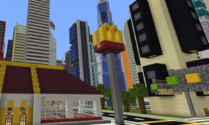 Dubai MEGAPOLIS Map For Minecraft PE by F. Weston