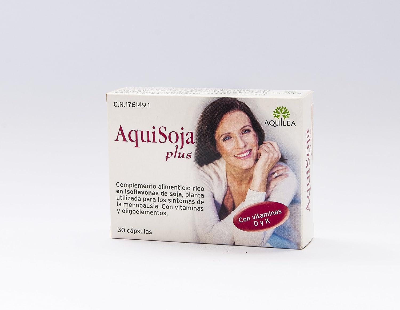 URIACH AQUILEA Aquisoja Plus 32 cápsulas: Amazon.es: Salud y cuidado personal
