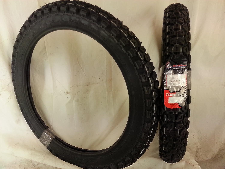 Neumático de Bicicleta 3. 00-18 52R VEE RUBBER ENDURO: Amazon.es ...