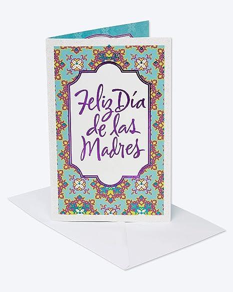 Amazon.com: American Greetings Feliz Día de las Madres ...