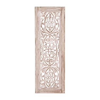 Deco 79 Wood Wall Panel, 12 by 36