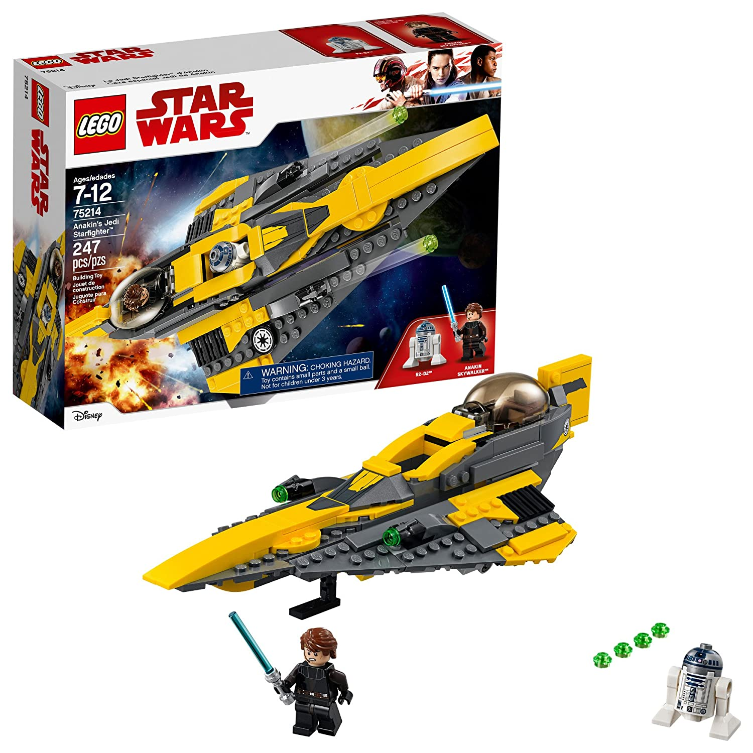 Lego Star Wars Anakin's Jedi Starfighter 75214 Star Wars Toy 6212766
