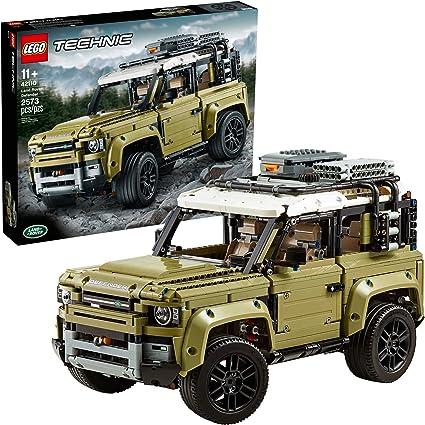 Jeep Defender Lego
