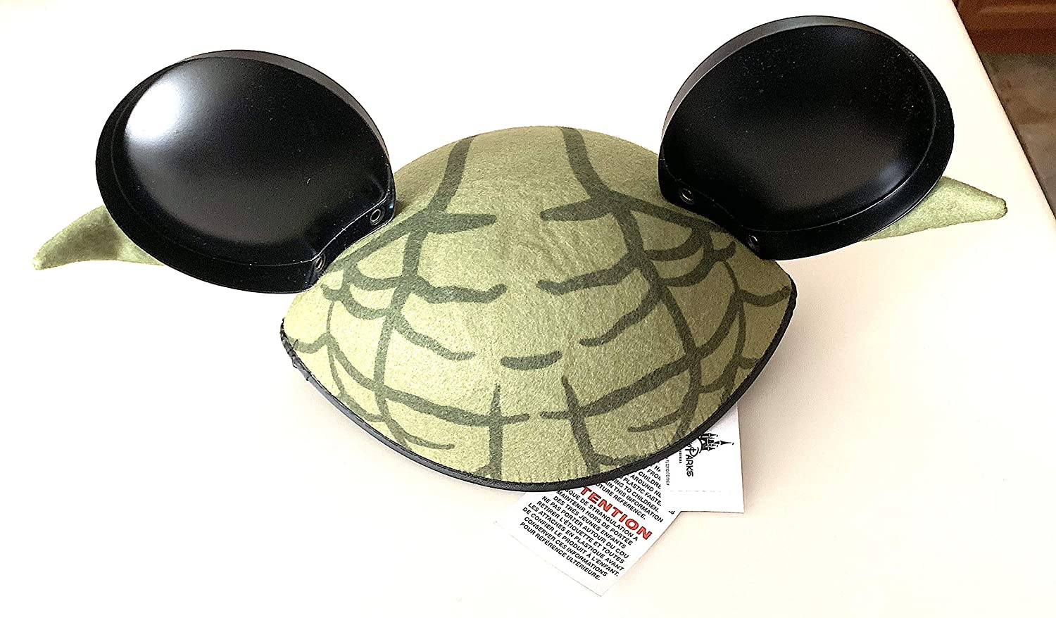 info for 2a59e 3d833 Amazon.com  Disney Parks Star Wars Yoda Mickey Mouse Ears Hat Adult Size   Everything Else