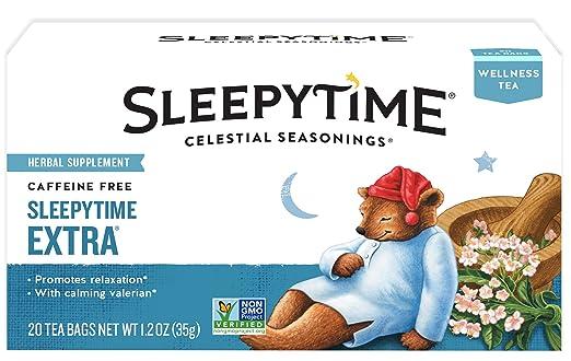 amazon celestial seasonings wellness tea sleepytime extra