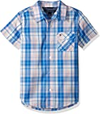 Tommy Hilfiger Short Sleeve Plaid Woven Shirt