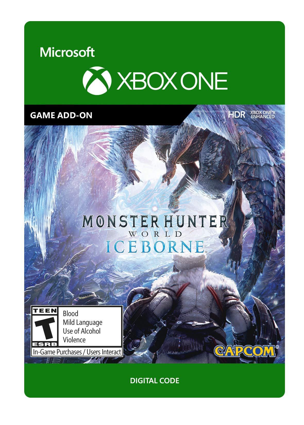 Monster Hunter World: Iceborne - [Xbox One Digital Code]