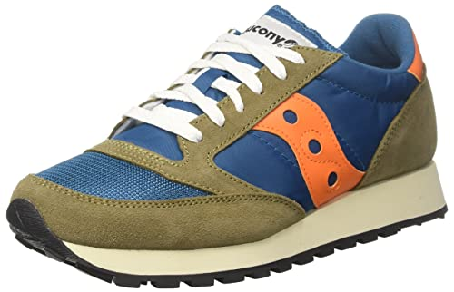 8a5e430cff4b Saucony Adults  Jazz Original Vintage Tea OLV S70368-14 Trainers  Multicolour (Teal