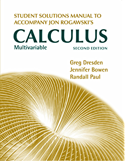 Calculus 2 jon rogawski amazon students solutions manual for multivariable calculus fandeluxe Gallery