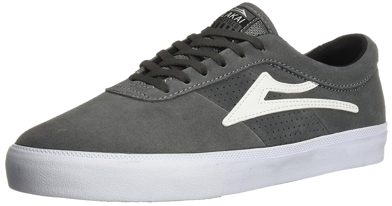Lakai Sheffield Skate Shoe B01N22061K 7.5 M US|Grey Suede
