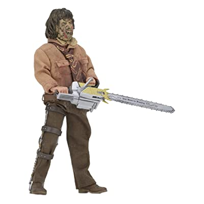 "NECA Texas Chainsaw Massacre 3 8"" Clothed Action Figure: NECA: Toys & Games"