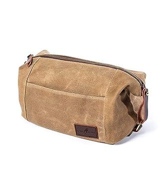 Image Unavailable. Image not available for. Colour  Mens Toiletry Travel  Bag - Dopp Kit, Wash Bag, Durable Canvas, YKK Zip 938b6d752d