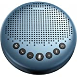Bluetooth Speakerphone - Luna Lite Computer Speakers with Microphone, VoiceIA Noise Cancelling USB Speakerphone, Daisy Chain,