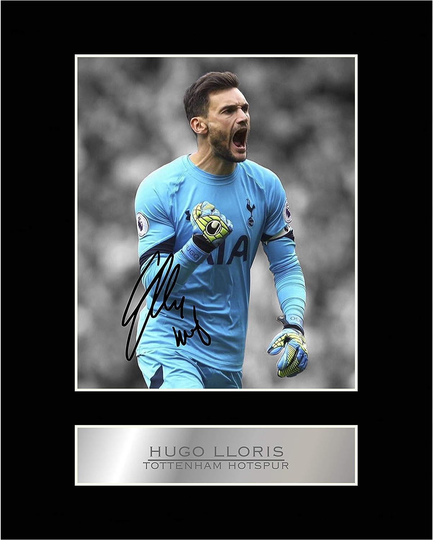 Photo d/édicac/ée mont/ée de Hugo Lloris du Tottenham Hotspur FC