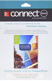 Financial managerial accounting with connect plus jan williams connect 2 semester access card for financial and managerial accounting fandeluxe Gallery