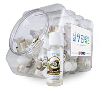 Amazon Com Live Germ Free Antibacterial Natural Hand Sanitizer