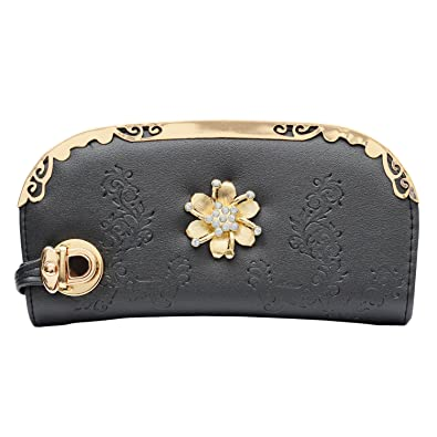 517f9b06dc02 Bagaholics Women Wallet Clutch Diamond Studded Clutches Ladies Purse Girls  Gift  Amazon.in  Shoes   Handbags